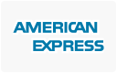 American Express cards accepted here