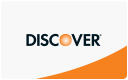 Discover cards accepted here